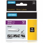 Dymo Rhino Purple Vinyl Tape - 19mm, white Text (p/n: 1805421)