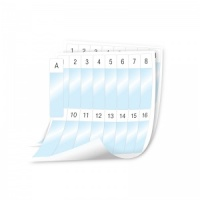Dymo XTL  Laminated Cable Wrap SHEET Labels - 24x103mm,  Text (p/n: 1908554)