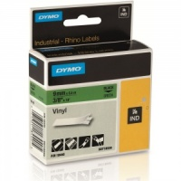 Dymo Rhino Green Vinyl Tape - 9mm, Black Text (p/n: 18440) - DISCONTINUED